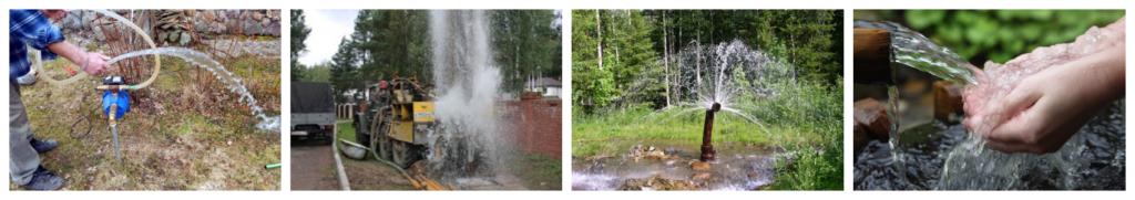 Бурение скважин в Выборгском районе